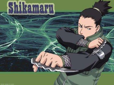 shikamaru nara fainéant avec un QI de 200