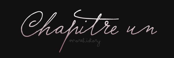 あ M 0 R E H I S T 0 R Y . S K Y R 0 C K . C 0 M あ  Blog fiction, inventée pas SoftWWE et appartenant a SoftWWE.     ¸.•´´¯`••.¸¸.• ❤ Chapitre un.