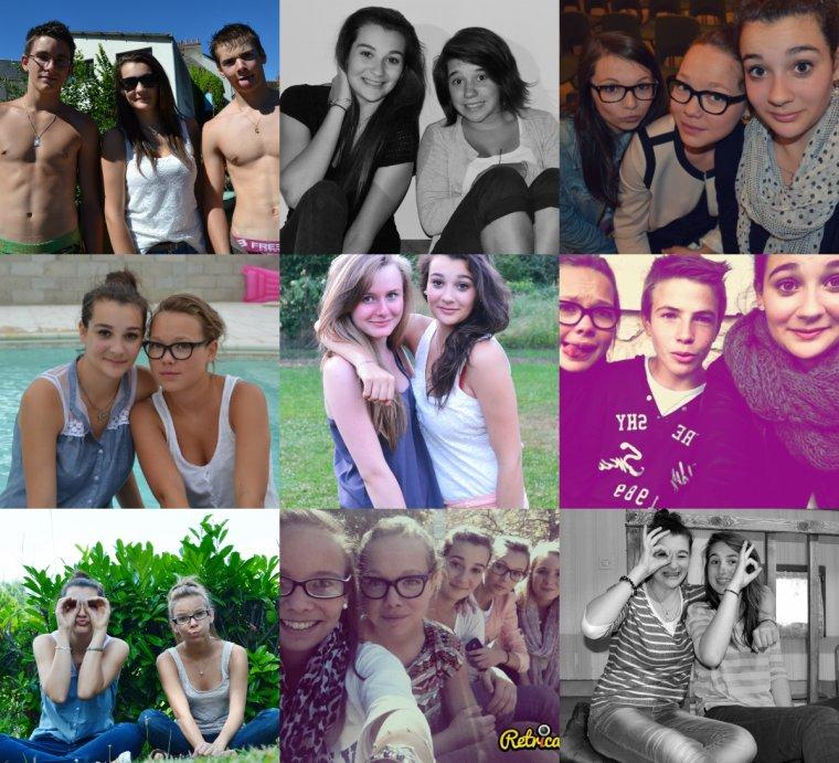 Blandine-Emma-Maud-Lucile-Fabien-Kenny-Anaïs-Mathilde-Steven-Jeanne. ♥