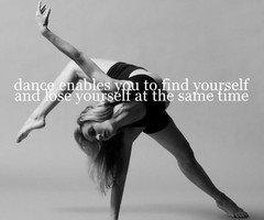 dancing is my escape