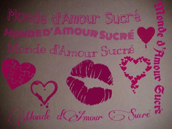 Partie 5 : Monde d'Amour Sucré ...