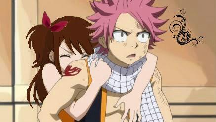 Natsu et Laura...