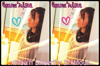 ♥ xMàà'h Sheerii'y D'xMour ♥