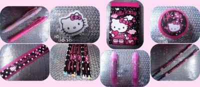 Objets Hello Kitty n°1, 2, 3, 4, 5, 6, 7, 8, 9, 10, 11, 12, 13, 14, 15, 16 ♥ Super Stationery Set ♥ Achetés à Claire's