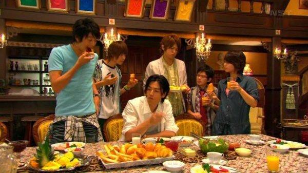 "8 images ""food in J-drama"""