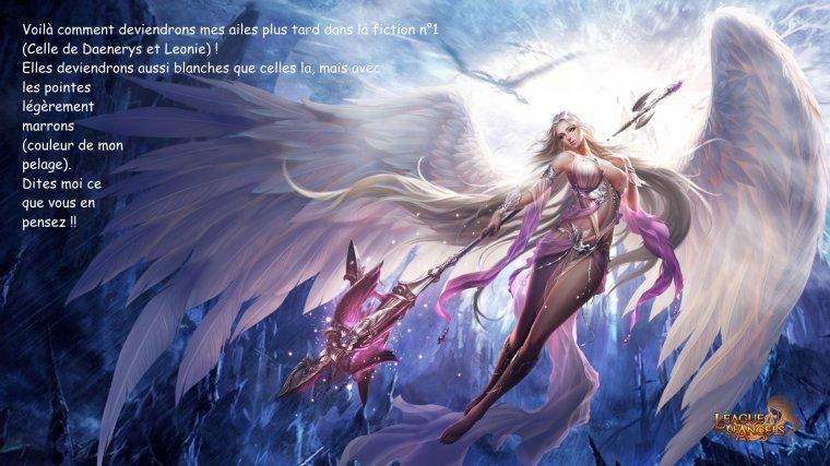 Modification de la couleur de mes ailes au cours de la fiction n°1 !