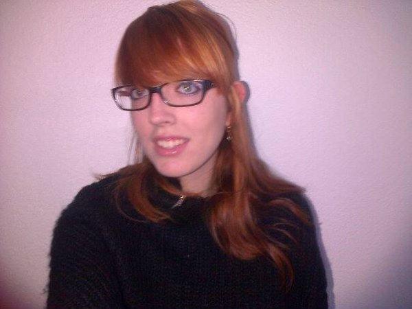 ma nouvelle couleur de cheveux :)