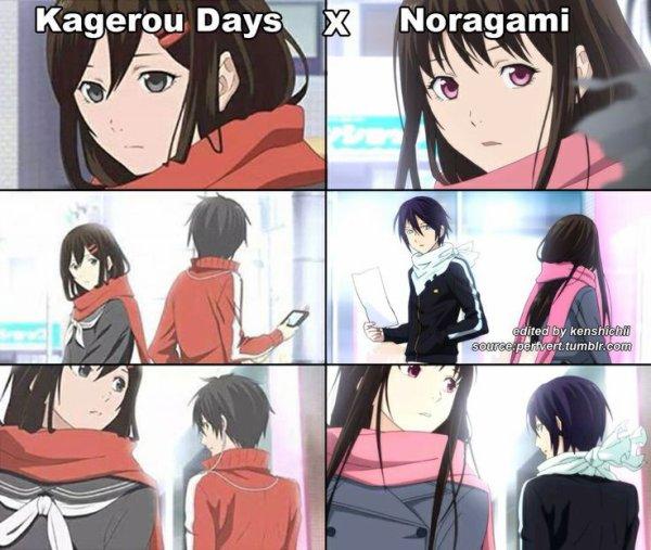 Kagerou Days X Noragami *^*