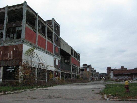 Packard's Plan-Détroit-Michigan