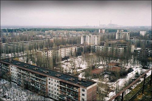 Tchernobyl-Ukraine-Europe