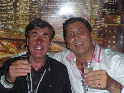 Bernard MENEZ avec Franck au BABYLON
