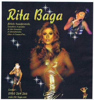 Spectacle Samedi 16 octobre avec RITABAGA