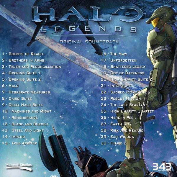 HALO  LEGENDS : ORIGINAL  SOUNDTRACK