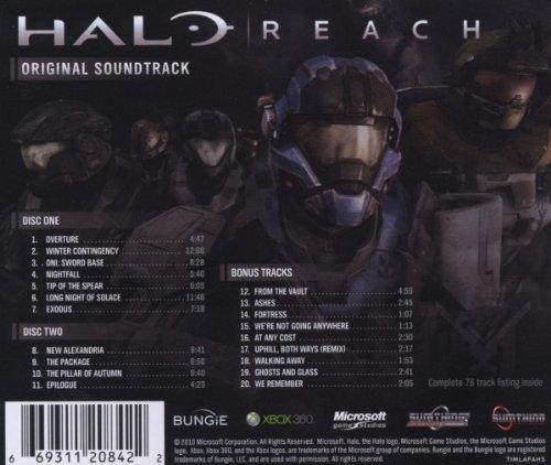 HALO   REACH : ORIGINAL   SOUNDTRACK