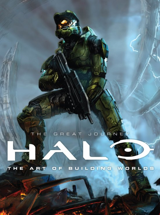 HALO : THE   GREAT   JOURNEY : THE   ART   OF   BUILDING   WORLDS