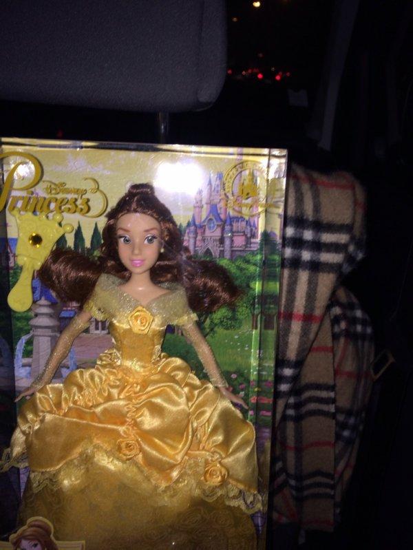 De retour de Disneyland avec Belle