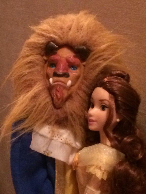 Mon couple la Belle et la Bête