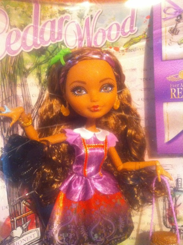 Ma nouvelle Ever After High Cedar Wood !