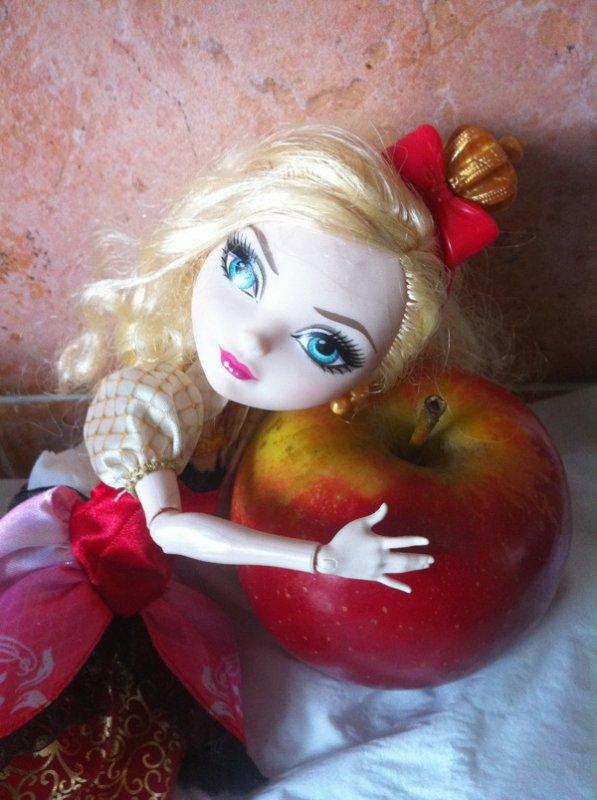 Apple White a faim !