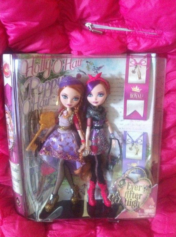 EAH :  Poppy et Holly O'Hair Doll !!!