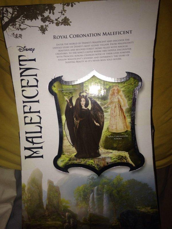 Maleficent Royal Coronation Doll