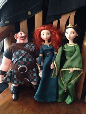 Ma Merida et ses parents