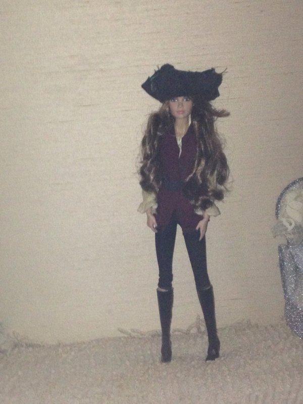 Mes customs Pirate des Caraïbes