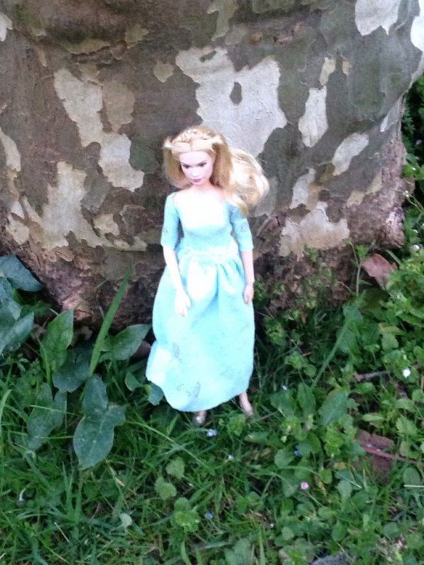 Ma Cendrillon a une nouvelle robe