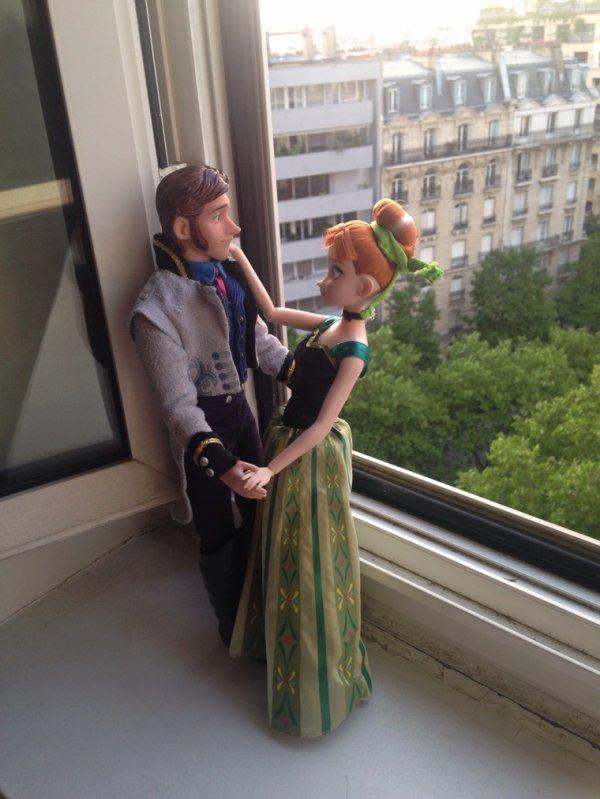 Anna et Hans La Reine des Neiges