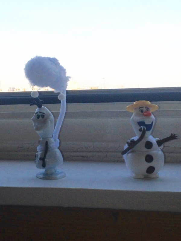 Création pour Olaf le bonhomme de neige