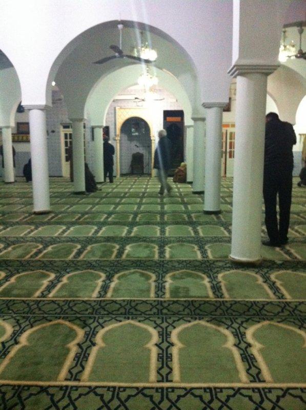 مسجد الحوانيت من الداخل