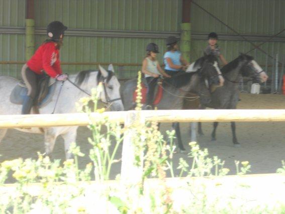 samedi 02/07/2011 cours des galop 1 et 2