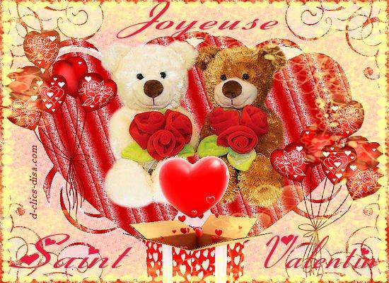 Joyeuse Saint Valentin a Celle Que J'aime !! ;) :$