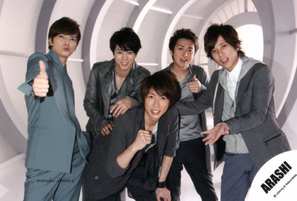 Arashi : leurs singles & albums !