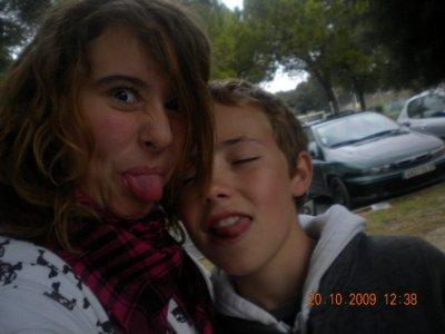 Lucas avec Clemence Jtm...<3 FDC...<3