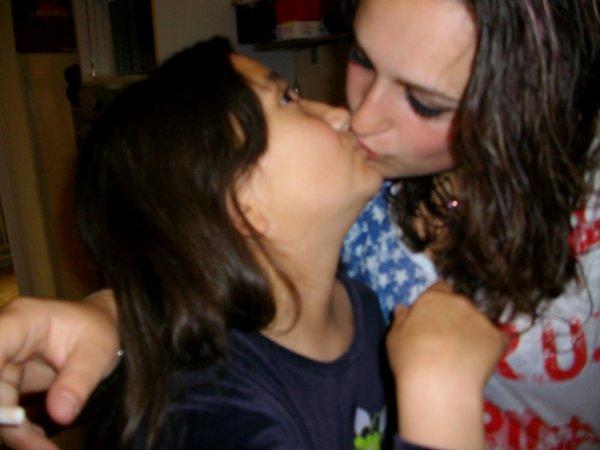 La petite soeur je t'aime ♥