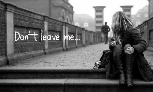 Ne me quitte pas.