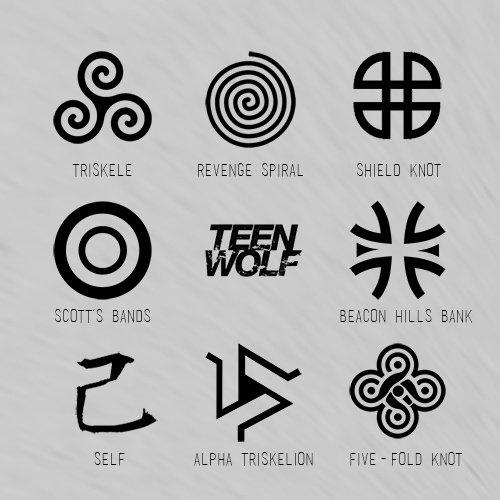 symbole teen wolf