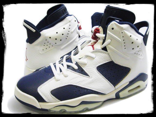 Jordan 6 olympics => dispo le 7 juillet 2012