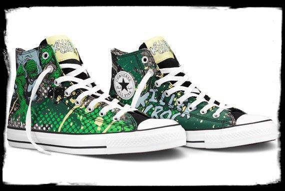Converse x DC Comics => Killer Croc
