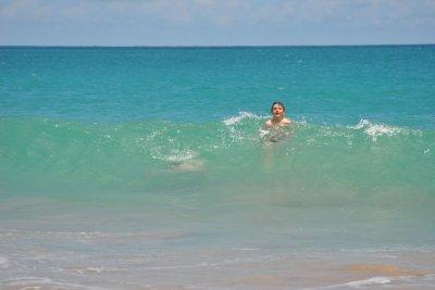 eau a 28 degrés ,et eau limpide !!!!!