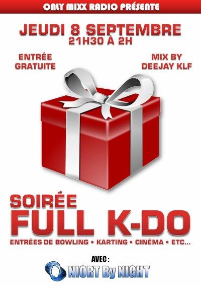 Soirée Full K-DO Avec DJ - KLF