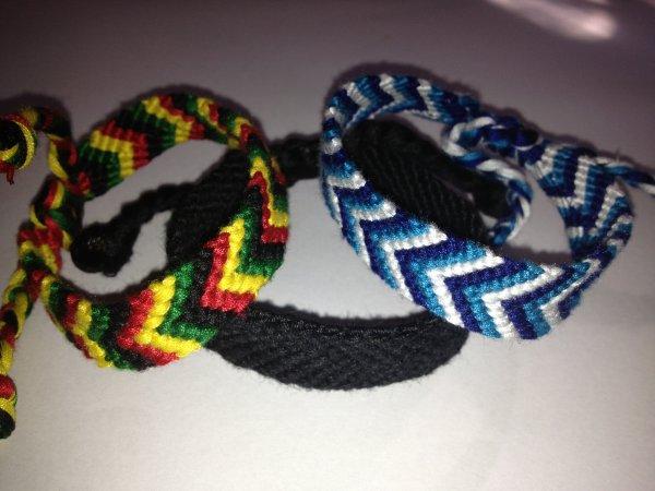 Bracelet Brésilien Chevron