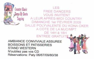 A.M. DANSANTE DES FREE DANCERS
