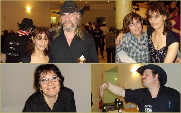 """7 février- a.m. dansante avec les """"cools country"""""""