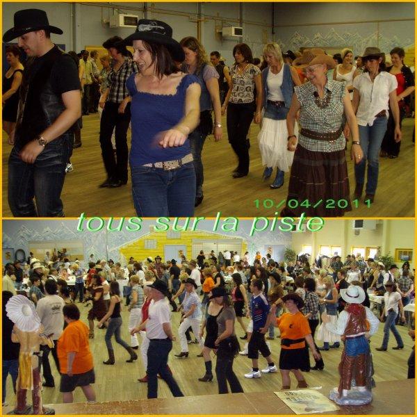 """10 avril- A.M. dansante à AUMETZ avec les """" génération country """""""