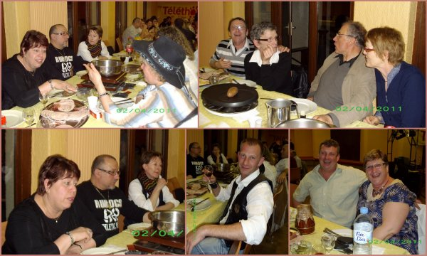 2 avril- soirée raclette
