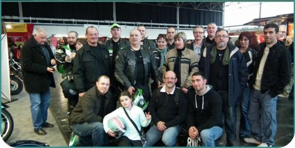 10 mars 2012- salon moto à Sarrebrùck ( Allemagne )