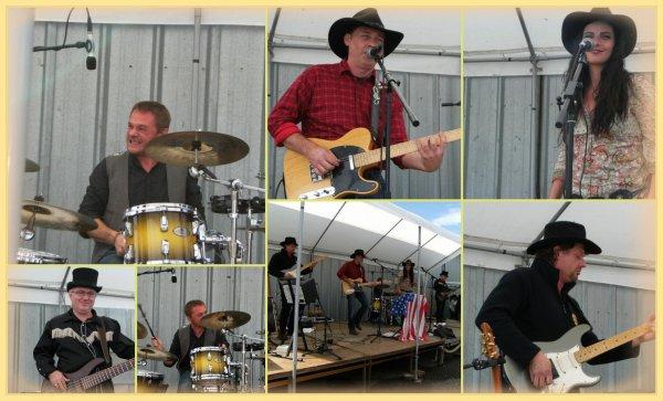 """26 août- country à Trieux avec les """" Last Gust """""""