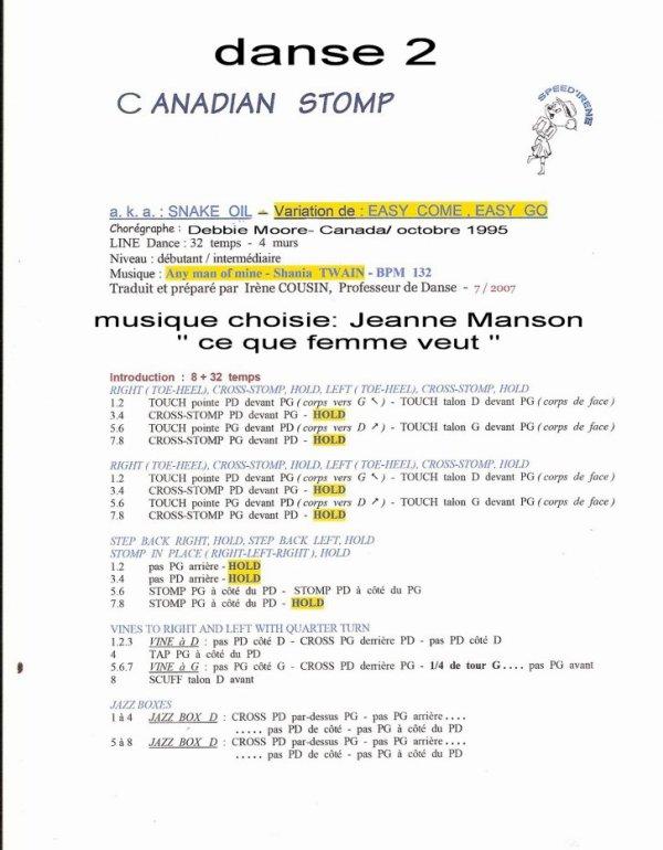 CANADIAN STOMP